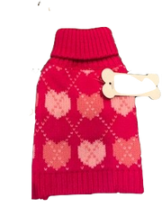 Sweater: Pink Hearts