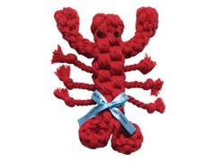 Rope Toy: Organic Rope Lobster
