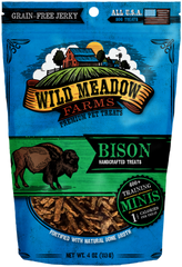 Treats: Wild Meadow Farms Grain-free Bison Training Treats