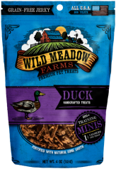 Treats: Wild Meadow Farms Grain-free Duck Training Treats