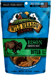 Treats: Wild Meadow Farms Grain-Free Bison Bites