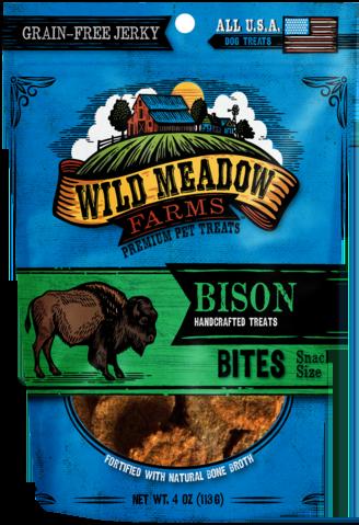 Treats: Wild Meadow Farms Grain-Free Bison Bites