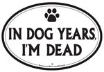 Car Magnet: Dog Years