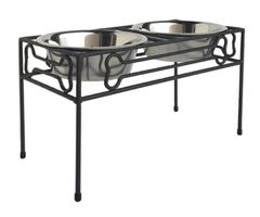 Diner: Bronze Elevated Wrought Iron Diner