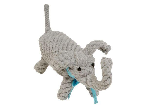 Rope Toy: Organic Elephant