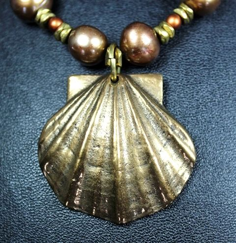 Shell of St. James Necklace