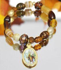 St. Christopher Stretch Bracelet