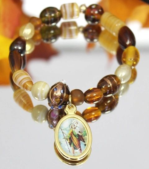 St. Christopher Stretch Bracelet