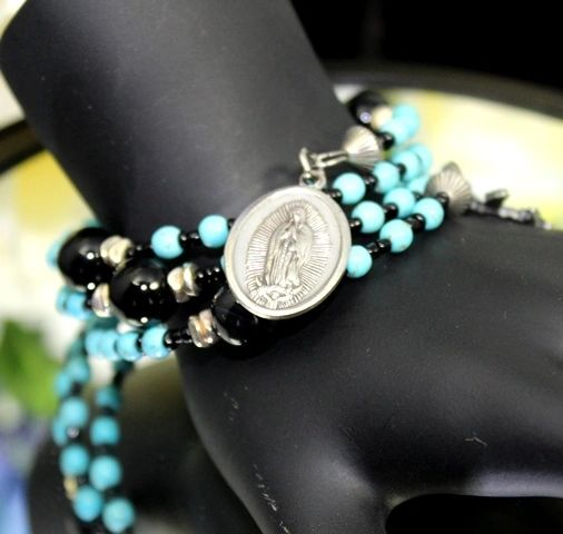 Our Lady of Guadalupe Relic, Rosary Bracelet