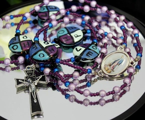 Love & Hope Kazuri Bead Rosary