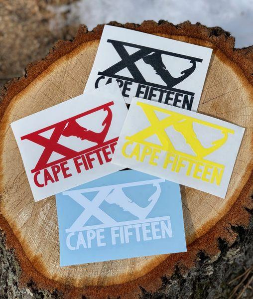 Cape Fifteen Sticker Pack