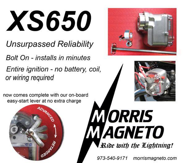 YXS -for Yam  XS 650's