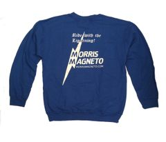 Morris Magneto Sweatshirt (blue)
