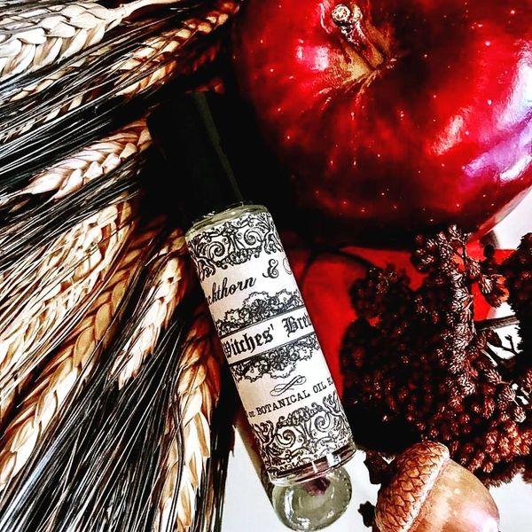 WITCHES' BREW Artisan Botanical Elixir Oil - 1/3 oz Roll-On Natural Perfume  Potion