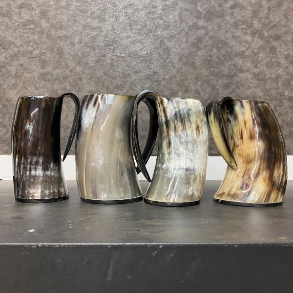 Curved Horn Viking Cup