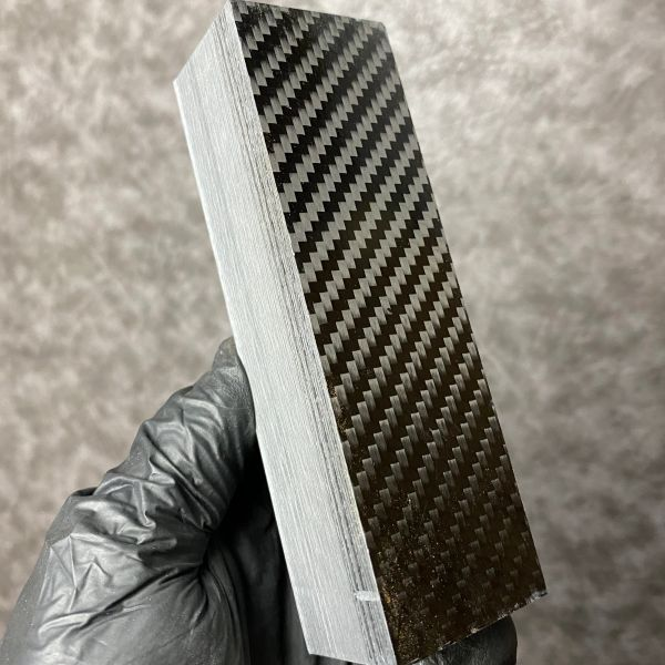 Black Carbon Fiber Block
