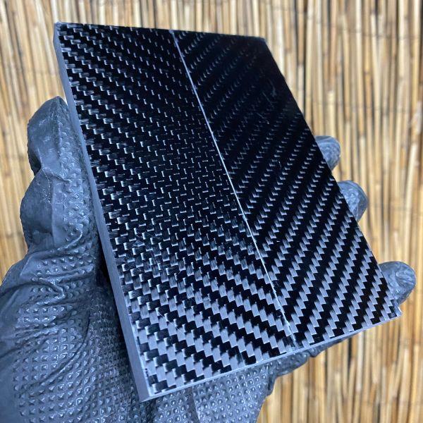 Black Carbon Fiber Scales - 4 sizes
