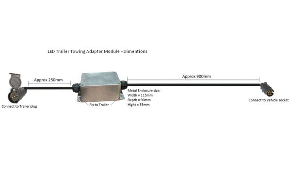 Led Trailer Lights - Smart Logic Electrical - LED TOWING MODULES