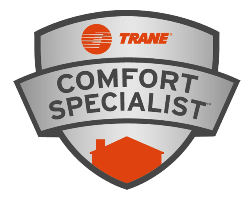 Thank you to all our Residential and Commercial Customers. We have TRANE Comfort Specialists