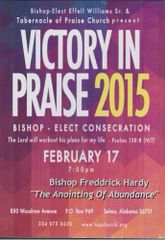 "Victory In Praise Conference 2015 - DVD - Bishop Frederick Hardy - ""The Anointing of Abundance"""