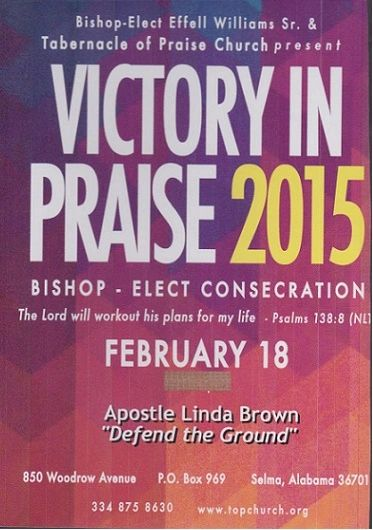 "Victory In Praise Conference 2015 DVD - Apostle Linda Brown - ""Defend The Ground"""