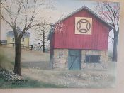 Double Wedding Ring Quilt Barn Canvas