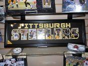 Pittsburgh Steelers Word Frame