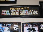 Roberto Clemente Word Frame