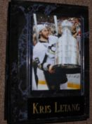 Kris Letang Sports Plaque