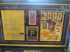 Roberto Clemente 3,000 Hit Frame