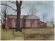 Americana Barn Canvas