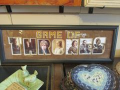 Game Of Thrones Word Frame