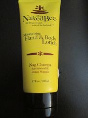 Naked Bee Nag Champa Hand & Body Lotion