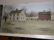 New England Saltbox Canvas