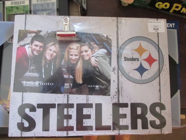 P. Steelers Clip Picture Frame