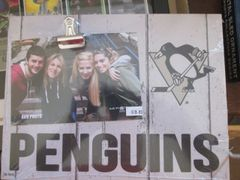 P. Penguins Clip Picture Frame