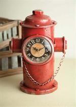 Fire Hydrant Clock