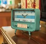Retro Radio Table Clock