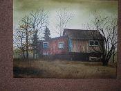 Tractor Barn Canvas