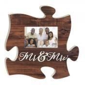 """""""Mr. & Mrs."""" Puzzle Piece"""