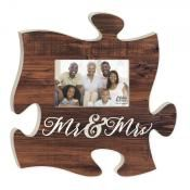 """Mr. & Mrs."" Puzzle Piece"