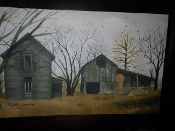 Forgotten Homestead Canvas