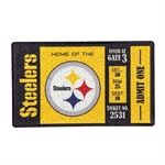 Pittsburgh Steelers Turf Mat