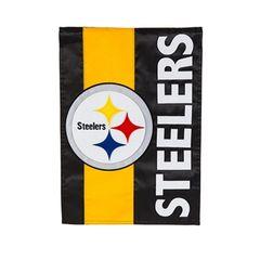 Pittsburgh Steelers Embellished Garden Flag