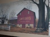 Antiques Barn Canvas