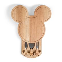 Mickey Mouse Head Shaped Cutting Board