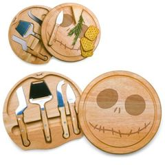 Nightmare Before Christmas Jack Circo Cheese Cutting Board