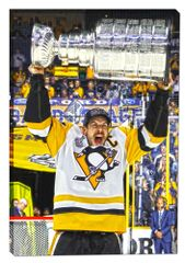 Sidney Crosby Canvas Print