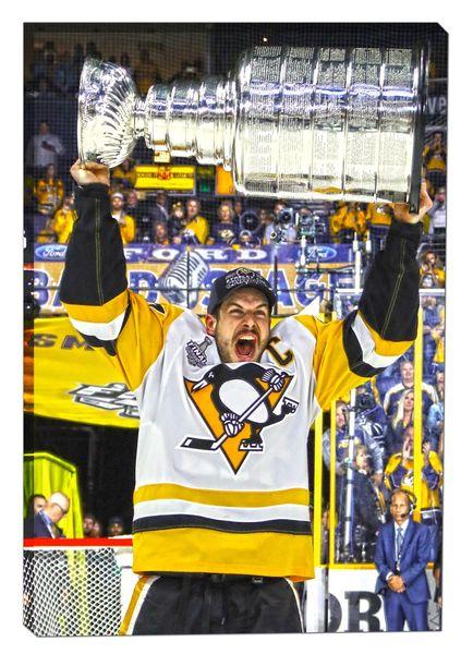 Sidney Crosby Canvas Print
