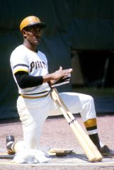 Roberto Clemente On Deck Canvas Print